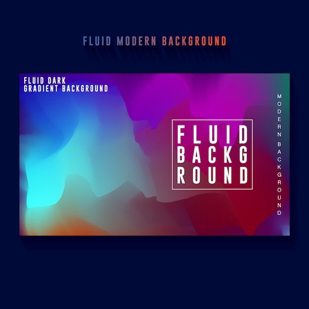 Abstract dark color gradient banner background design Premium Vector