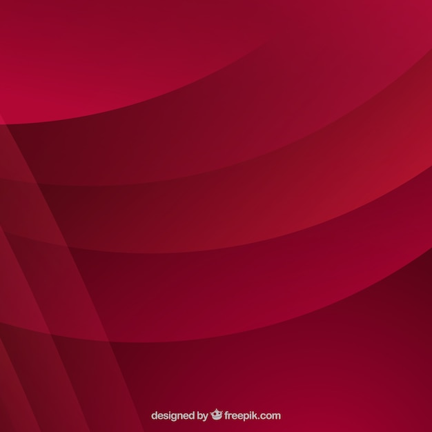 Abstract dark red background with waves