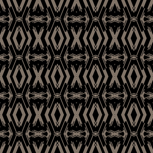 Abstract decorative dark pattern design