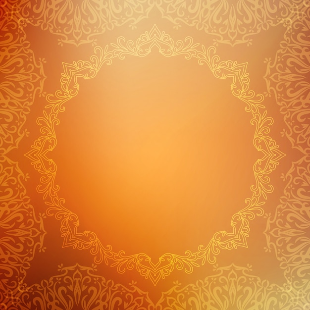 Abstract decorative luxury background Free Vector