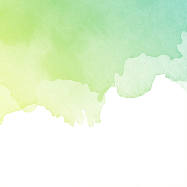 Abstract decorative watercolor background Free Vector