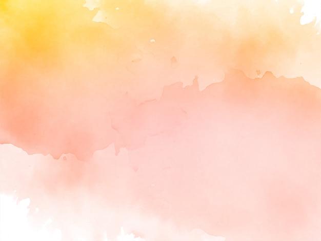 抽象的な装飾的な水彩画の背景 無料ベクター
