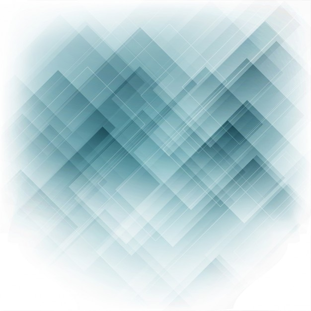 Abstract Design Background In Shades Of Blue Vector Free