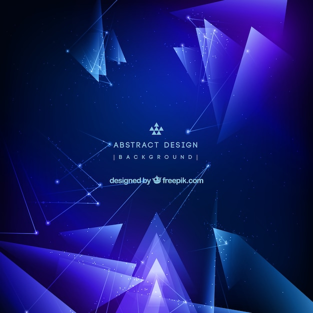 Abstract design background Free Vector
