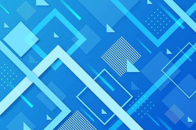 Abstract design classic blue background Free Vector