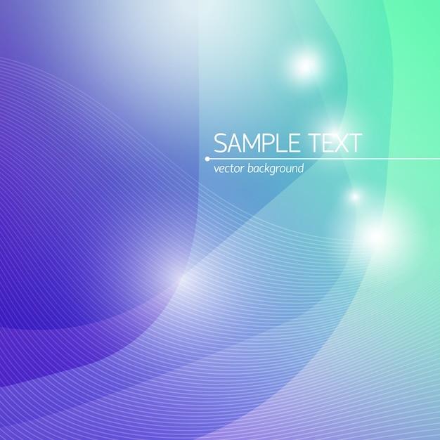 テキストフィールドラインとフラットな光の効果を持つ抽象的なデザイン科学の背景 無料ベクター
