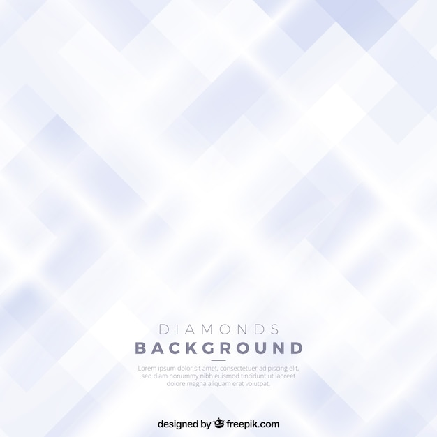 Abstract diamond background Free Vector