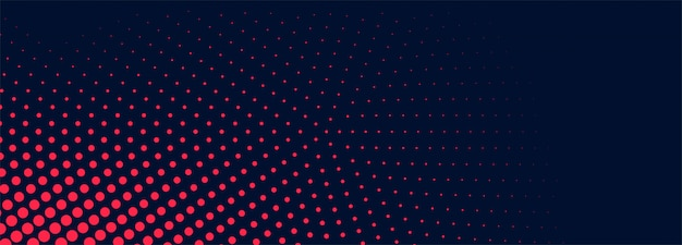 Abstract dotted banner background Free Vector