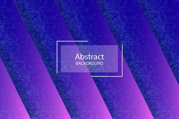 抽象的な点線のテーマの青とピンクの色の背景 Premiumベクター