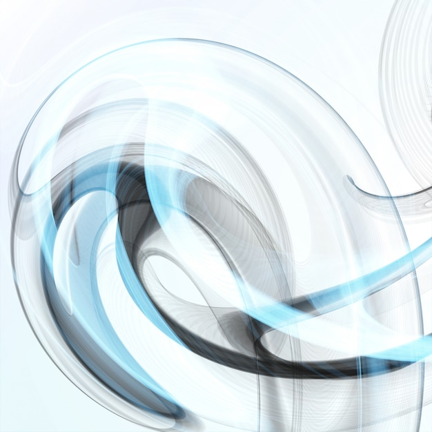 Abstract dynamic background, futuristic wavy illustration, art concept Premium Vector