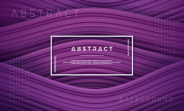 Abstract, dynamic and textured purple background. Premium Vector