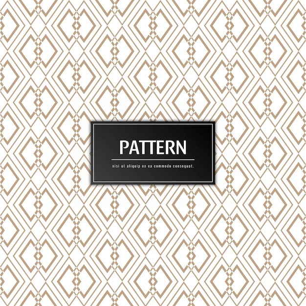 Abstract elegant pattern background Free Vector