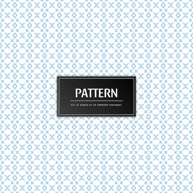 Abstract elegant pattern Free Vector