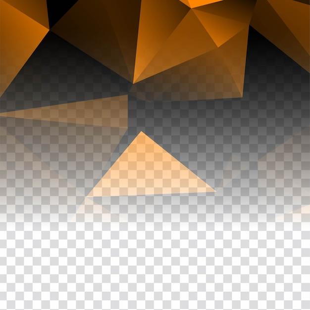 Абстрактный элегантный прозрачный многоугольный фон Бесплатные векторы