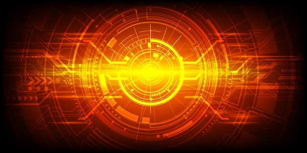 Abstract  engineering technology background Premium Vector