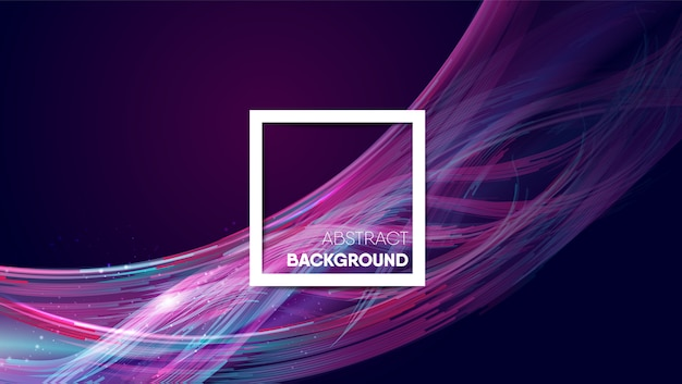 Abstract fiber optic cable background Premium Vector