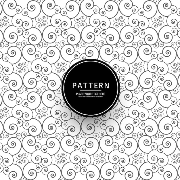 Abstract Floral Pattern Background Vector Free Download