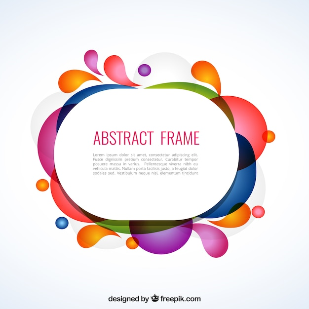 Abstract frame Vector | Free Download