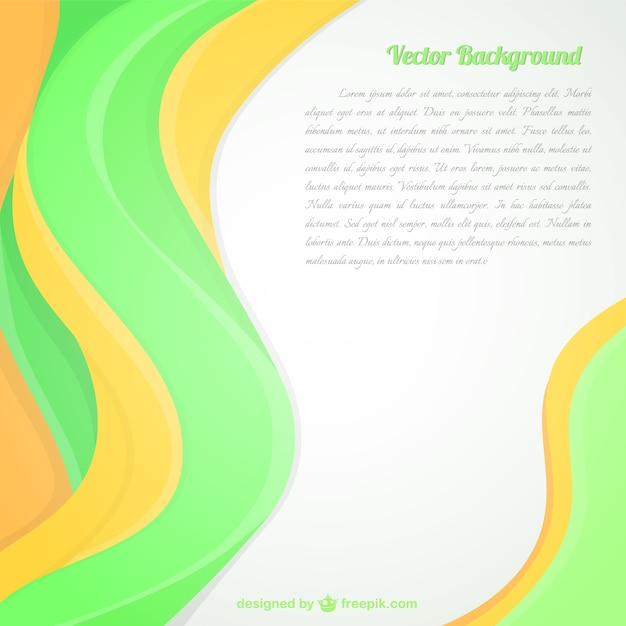 Abstract fresh green background