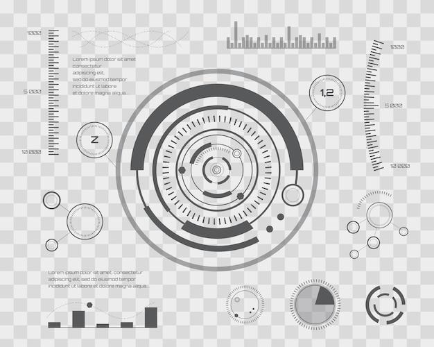 Abstract future, concept vector futuristic blue virtual graphic ...