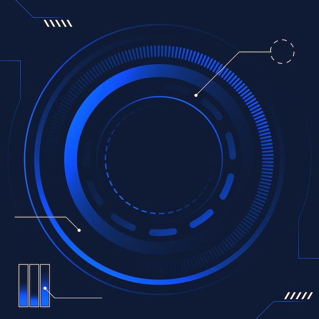 Абстрактная технология будущего Premium векторы