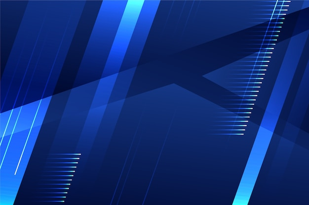 Abstract futuristic background with arrangement of shapes Free Vector