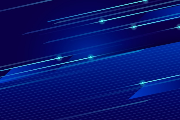 Abstract futuristic background with pixel rain Free Vector