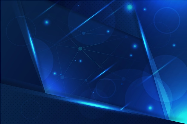 Abstract futuristic background Free Vector