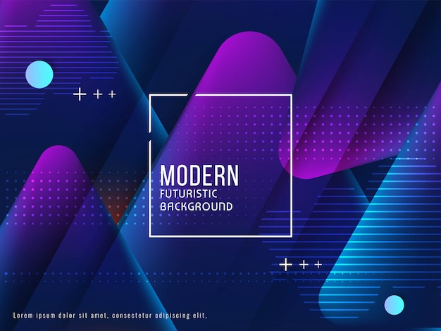 Abstract futuristic glossy background Free Vector