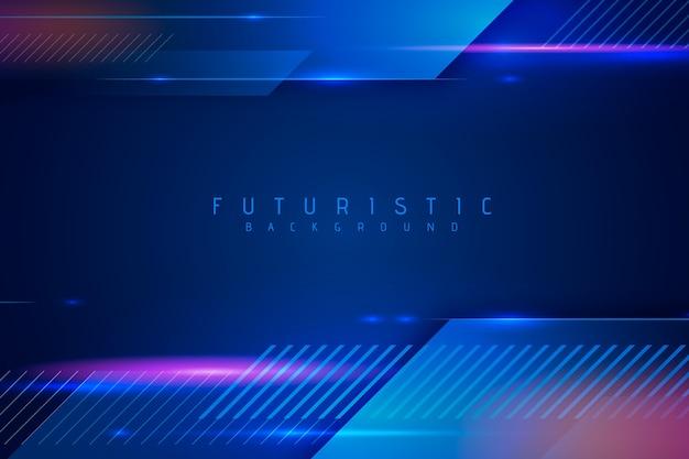 Abstract futuristic wallpaper design Free Vector
