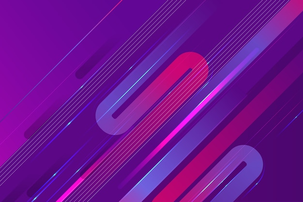 Abstract futuristic wallpaper Free Vector