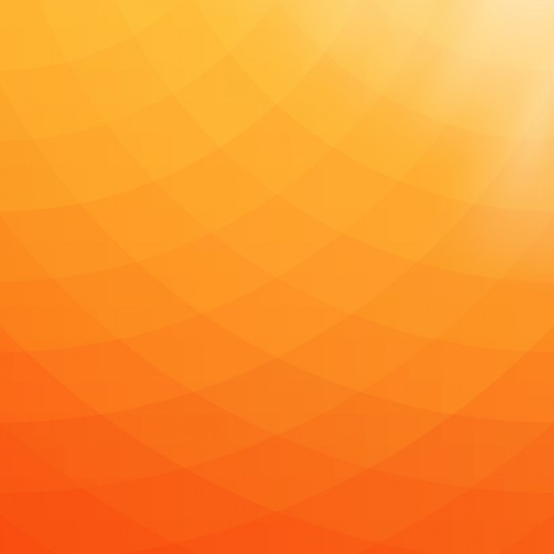 Abstract geometric background in orange and yellow tones ...