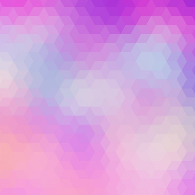 Abstract Geometric Background In Pink And Purple Tones