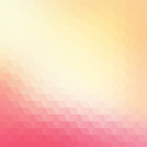 Abstract geometric background in red and cream\ tones