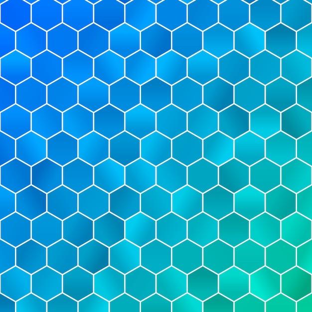 Abstract geometric background. polygon wallpaper. Premium Vector