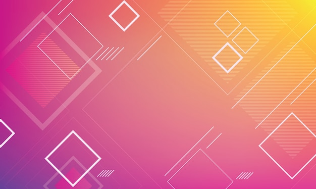 Abstract geometric for background template Premium Vector