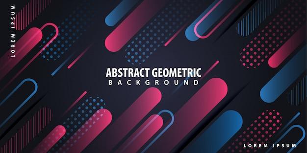 Abstract geometric background Premium Vector