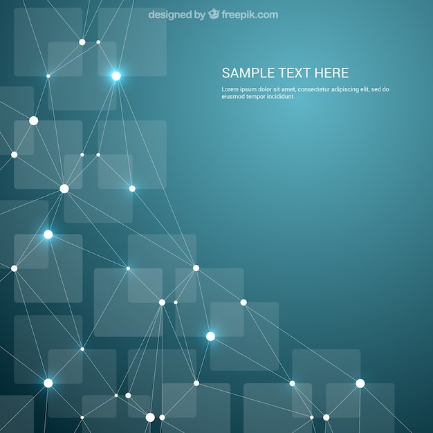 Abstract geometric background Premium Vector