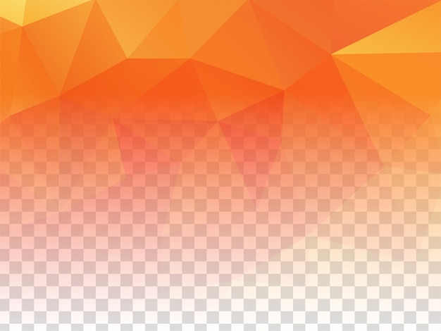 Abstract geometric design transparent bright background Free Vector