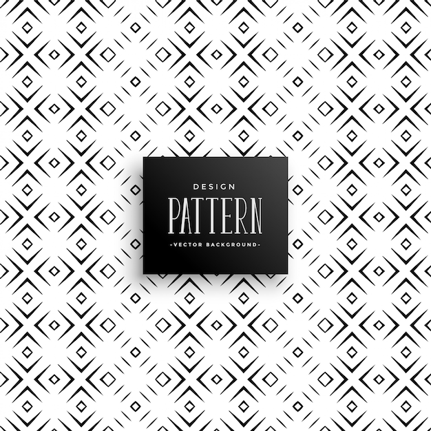 Abstract geometric diamond shape pattern background Free Vector