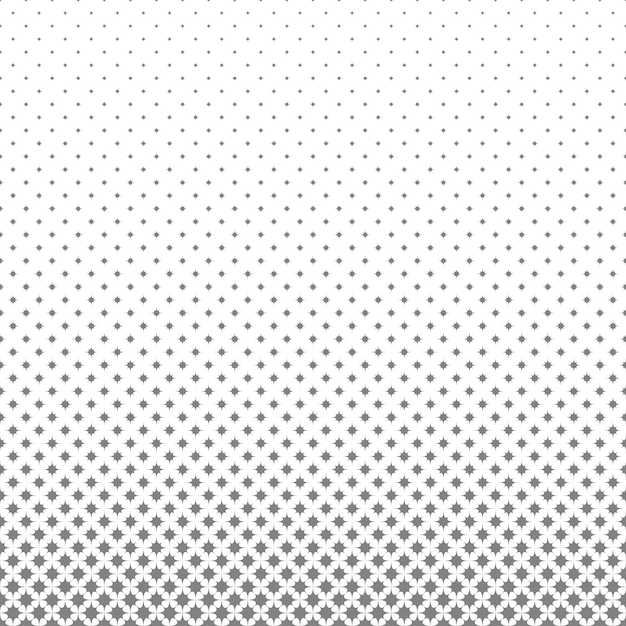 Abstract geometric halftone octagram star pattern background Premium Vector