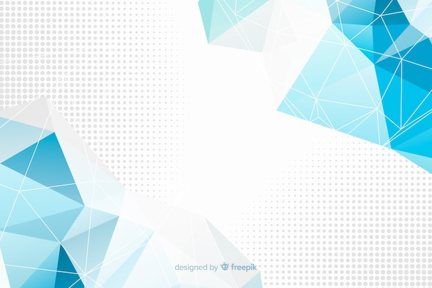 Abstract geometric models background Free Vector