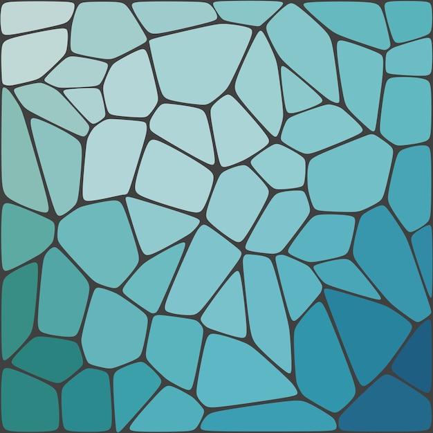추상적 인 기하학적 모자이크 화려한 배경입니다. 프리미엄 벡터
