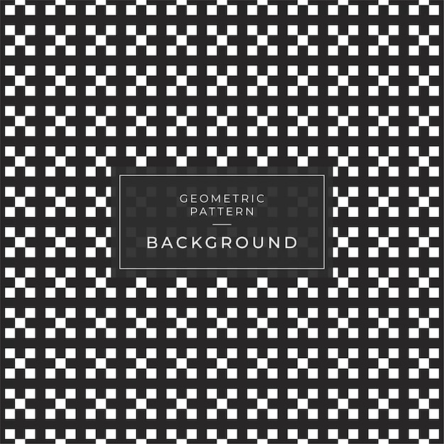 Abstract geometric pattern with stripes lines tile a seamless background. black and white texture. Premium Vector