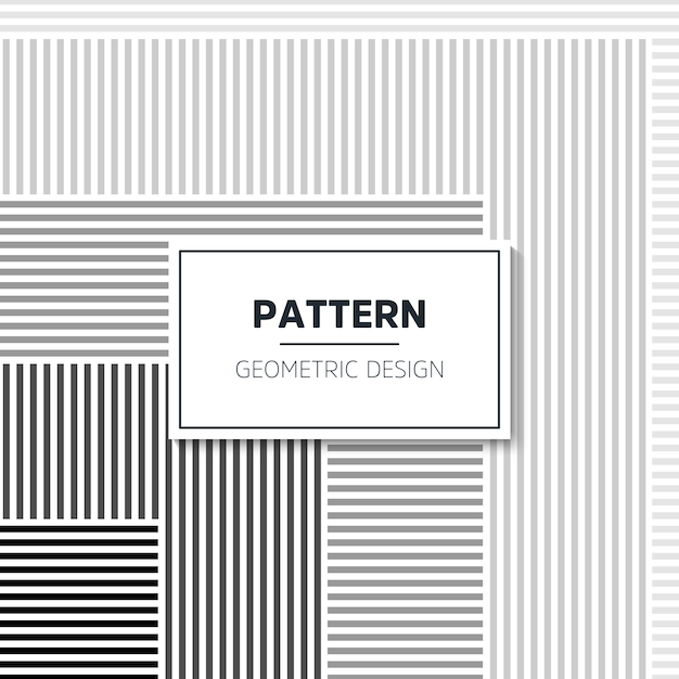 Abstract geometric pattern Free Vector