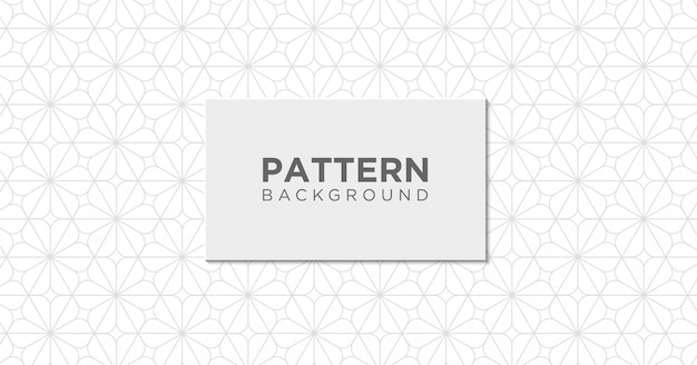 Abstract geometric seamless pattern background Premium Vector