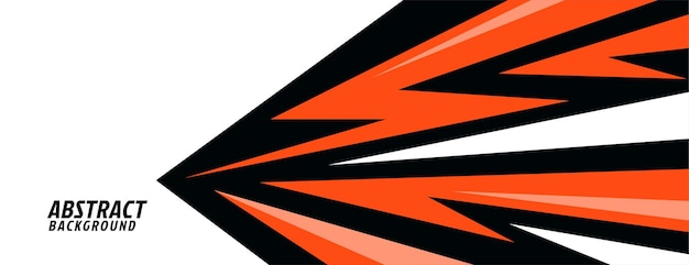 Abstract geometric in sports style design Free Vector