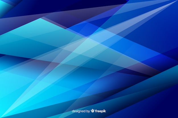 Abstract geometric triangle shapes background Free Vector