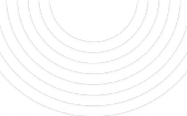Abstract geometric white light background Premium Vector
