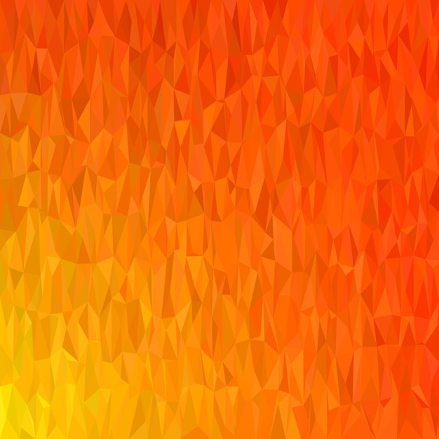 Abstract geometrical chaotic triangle background - mosaic vector illustration from colored triangles